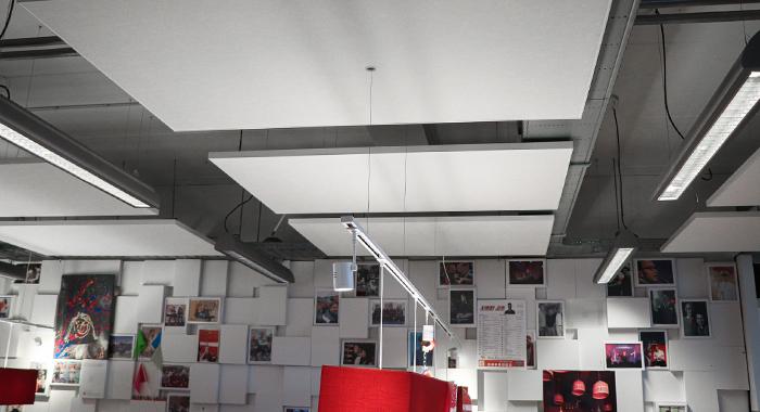 Akoestiek verbeteren kantoor