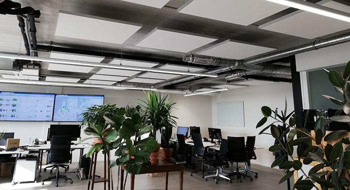 Akoestische oplossingen kantoor