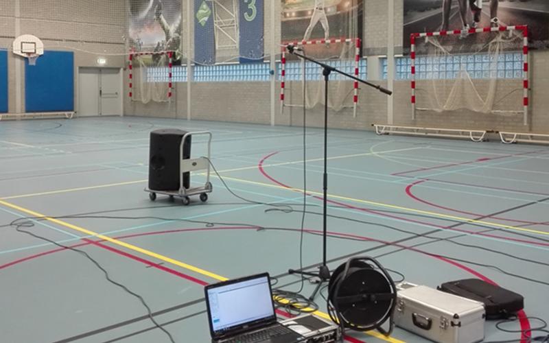 Akoestische metingen Sintmeerten College